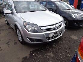 2008 Vauxhall Astra 1.6 Petrol 5 Door 140,000 miles great driver MOT'd 1 Year £1695