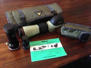 Nikon Field Scope ED II with attachments West Island Greater Montréal image 1