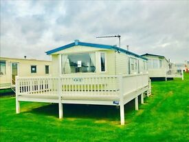 Outstanding Value Static Caravan! For sale on pitch with decking included!!