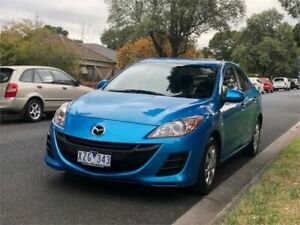 2010 Mazda 3 BL 10 Upgrade Neo Blue 5 Speed Automatic Sedan