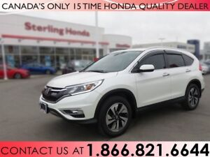 2015 Honda CR-V TOURING | 1 OWNER | NO ACCIDENTS