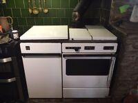 Franco Belge solid fuel central heating cooker