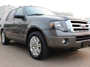 2014 Ford Expedition LIMITED, LEATHER, SUNROOF, NAV, BACKUP CAM,
