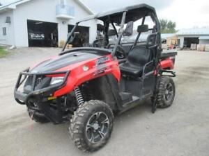 2015 ARCTIC CAT TRV XT 700 SIDE BY SIDE *BRAND NONE*CLEAN TITLE*