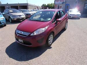 2011 FORD FIESTA SE 4 CYL LOW KMS LOW FINANCING AUTO AIR LOADED