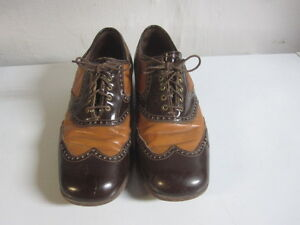 Rare McHale Two Tone Shoes