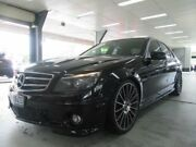2010 Mercedes-Benz C63 W204 AMG Black 7 Speed Automatic G-Tronic Sedan Fyshwick South Canberra Preview