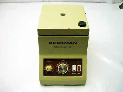 Beckman Microfuge 12 Benchtop Centrifuge
