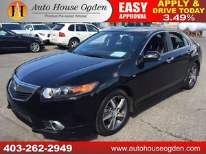 2012 Acura TSX w/A-Spec Pkg 6 SPD MANUAL HEATED LEATHER SUNROOF