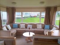 CHEAP STATIC CARAVAN FOR SALE NORTHUMBERLAND NEAR NEWCASTLE MORPETH AMBLE LINKS WHITLEY BAY BERWICK