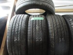 215/60R16  PAIR OF 2 USED MICHELIN A/S TIRES