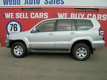 2007 Toyota Landcruiser Prado GRJ120R GX Silver 5 Speed Automatic Wagon Welshpool Canning Area Preview
