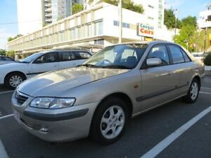 2000 Mazda 626 Classic Gold 4 Speed Automatic Sedan Southport Gold Coast City Preview