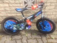 Childs Bike (Bicycle). Transformers Design. Suit Approx. 5-7 Yr Old. Very Good Working Condition