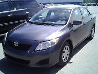 2010 TOYOTA COROLLA, 119K ONLY, CERTIFIED, LIKE NEW / 1 OWNER