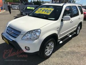 2006 Honda CR-V 2005 Upgrade (4x4) Sport White 5 Speed Automatic Wagon Lansvale Liverpool Area Preview