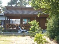 Montalivet, FRANCE. CHM Prestige Bungalows for rent. Naturist