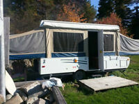 Reduced - 2009 Starcraft 1224 Tent Trailer with Side Pull-Out