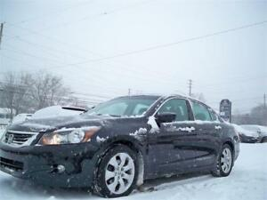 RARE! 2008 Accord Sdn EX-L with NAVIGATION! FULLY LOADED! V6 !!!