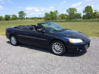 2002 Sebring Convertible safetied and etested