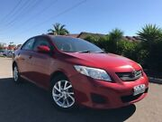 2007 Toyota Corolla ZRE152R Ascent Red 6 Speed Manual Sedan Hoppers Crossing Wyndham Area Preview