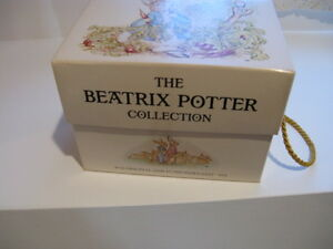 Beatrix Potter gift book box with 12 books.