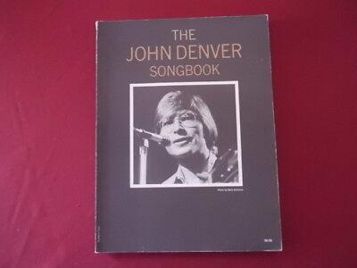 John Denver - Songbook (alte Ausgabe). Songbook Notenbuch Piano Vocal Guitar PVG