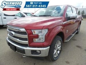 2017 Ford F-150 King Ranch w/ Max Tow Package, Sync Connect