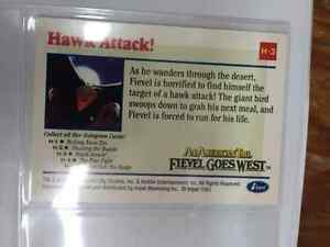 Fievel Goes West - An American Tale trading cards West Island Greater Montréal image 8