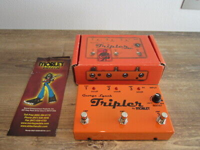 Morley George Lynch Tripler with Boost Pedal