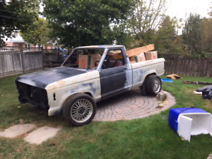 86 Ford Ranger with 5.0 under the hood