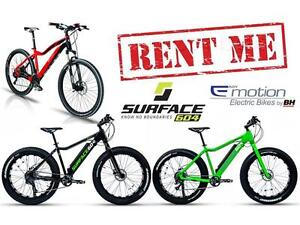 RENT eBike Electric Bikes in Calgary ! Pedego, BH, Surface 604