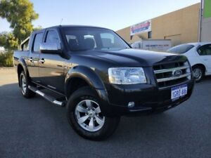 2007 Ford Ranger PJ XLT (4x4) Black 5 Speed Manual Dual Cab Pick-up Malaga Swan Area Preview