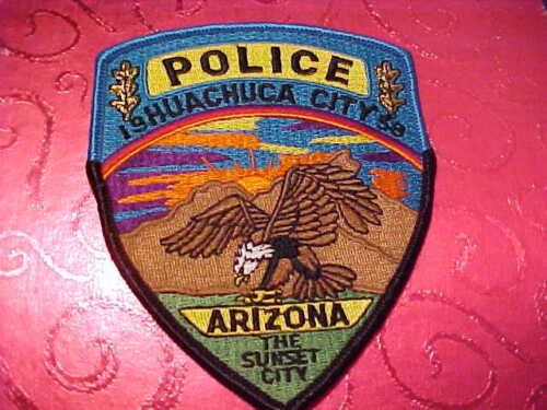 HUACHUCA CITY ARIZONA POLICE PATCH SHOULDER SIZE UNUSED