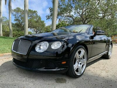 2013 Bentley Continental GTC Convertible 2D 2013 Bentley Continental GTC Convertible 2D