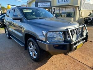 2012 Jeep Grand Cherokee WK Overland (4x4) Grey 5 Speed Automatic Wagon Port Macquarie Port Macquarie City Preview