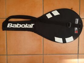 Tennis Racket Holdall. Babolat. Full Cover. Padded. Zipped. Shoulder strap. Excellent condition.