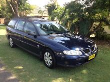 Holden Commodore Wagon VX Blue Forresters Beach Gosford Area Preview
