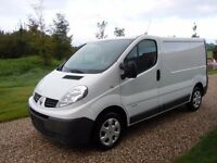 (MAN WITH VAN CHEAP HIRE RATES) RENAULT TRAFFIC FOR HIRE WITH DRIVER HOUSE/GARDEN CLEARENCE OR WHY