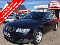 AUDI A4 1.9 AVANT TDI SE 5d 129 BHP ESTATE DIESEL, HIGH MP (blue) 2003