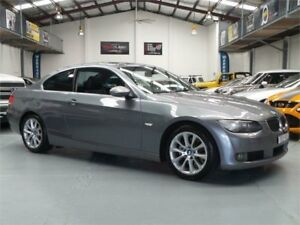 2007 BMW 323i E92 Space Grey 6 Speed Auto Steptronic Coupe Seven Hills Blacktown Area Preview