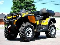 2013 CAN AM OUTLANDER MAX G2 800 XT * SUPER DEAL! *