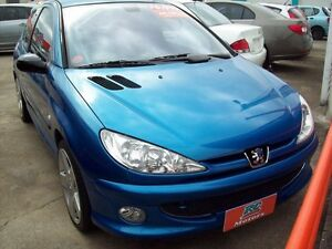 2004 Peugeot 206 T1 MY04 GTI 180 Blue 5 Speed Manual Hatchback Capalaba West Brisbane South East Preview
