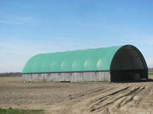 Used Coverall Tarped Bldg. ( 80' X 40')
