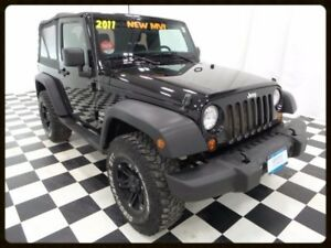 2011 Jeep Wrangler Sport - $13/Day - 6 Speed Manual - Black Whee