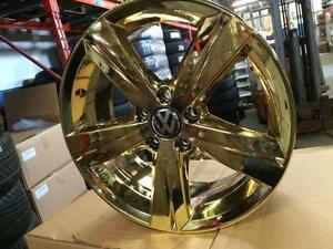 "**PVD GOLD** Brand new OEM Volkswagen 17"" Sonoma **PVD GOLD**"