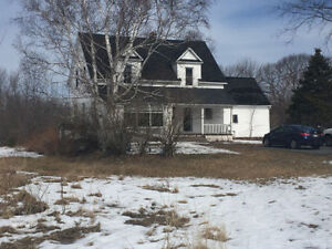 Waterfront , 7.65 acres, House, barn,~Your dream comes true.