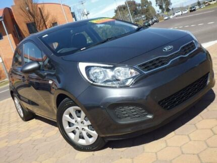 2013 Kia Rio UB MY14 S Grey 4 Speed Automatic Hatchback Greenway Tuggeranong Preview
