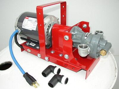 New Portable Wastebulk Oil Transfer Pumpheaters Burnersfurnacefree Shipping