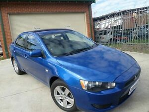 2008 Mitsubishi Lancer CJ MY09 ES Blue 6 Speed Constant Variable Sedan Mount Lawley Stirling Area Preview